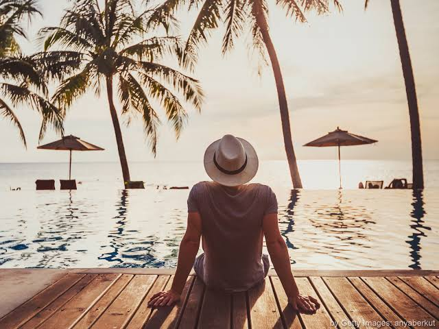 A leveza das férias notrabalho