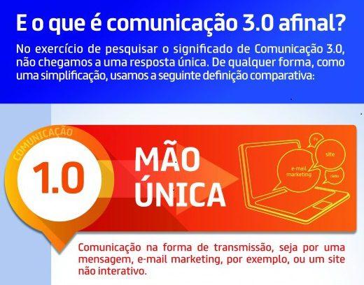 Comunicação 3.0 naprática