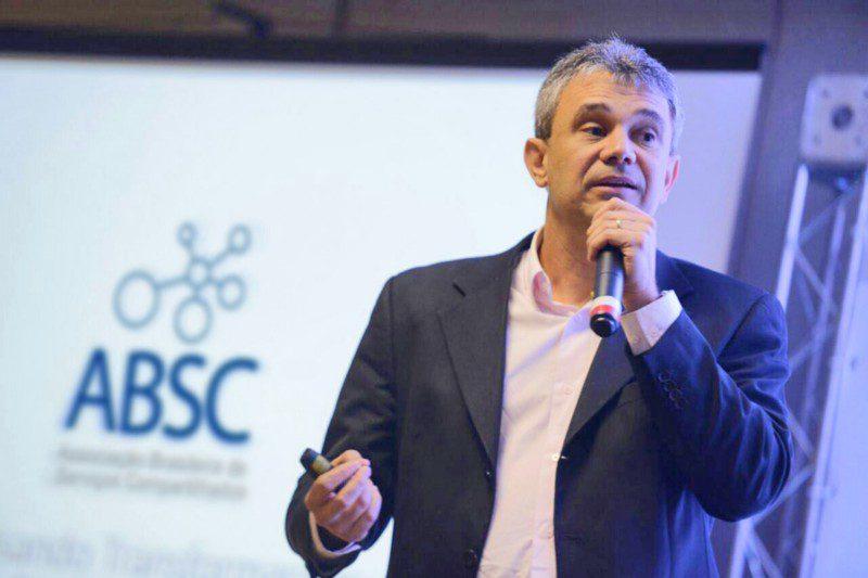 Ney Silva, Sócio Consultor da Corall, no 1º Encontro Nacional Grupos de Serviços Compartilhados—ABSC