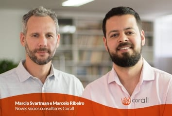 Marcelo Ribeiro e Marcio Svartman chegam para reforçar o time de sócios daCorall