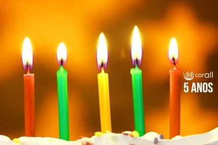 Corall | 5 anos liberando a potência de pessoas e organizações