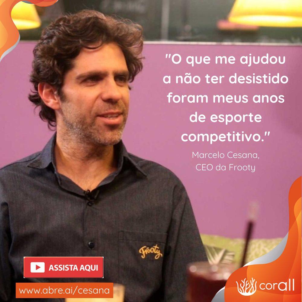 Lições do esporte e empreendedorismo com Marcelo Cesana